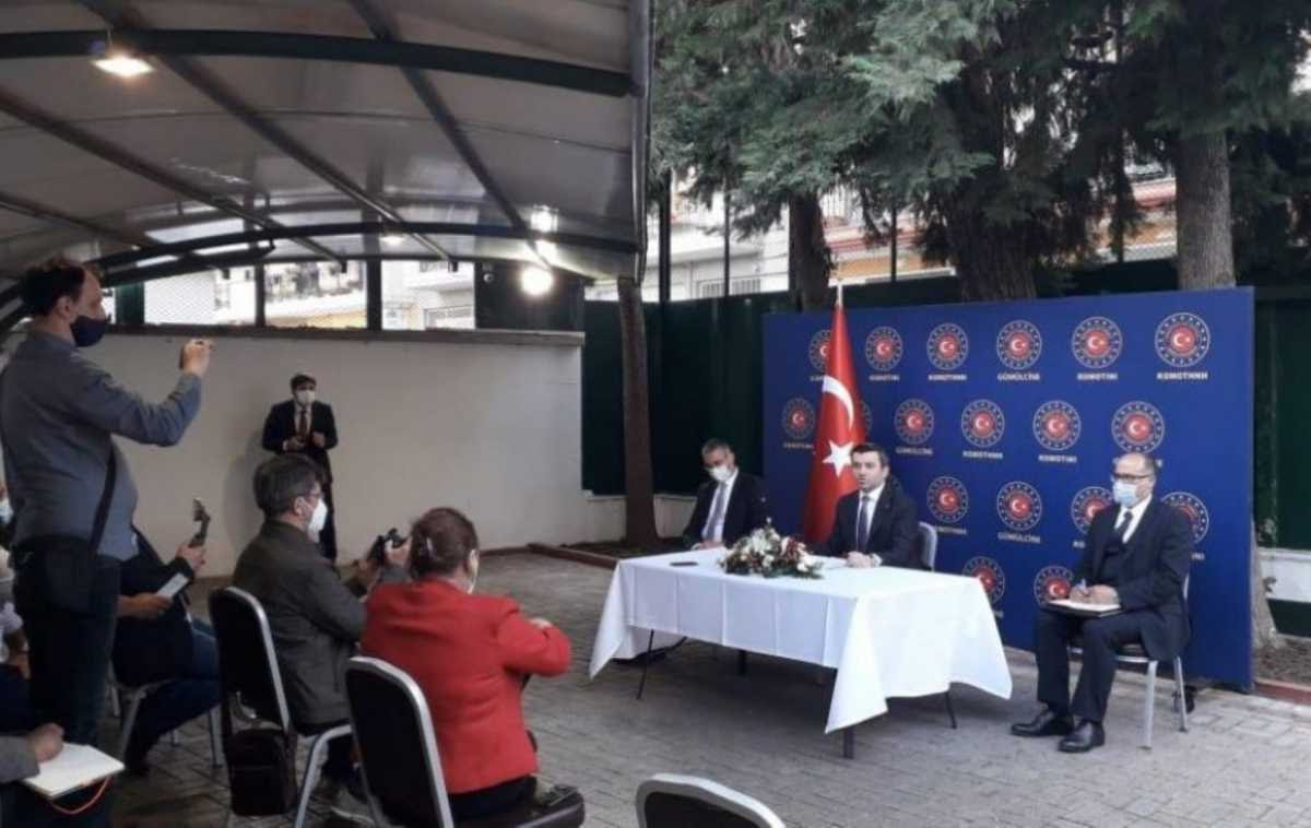 Προκλήσεις του Τούρκου Υφυπουργού Εξωτερικών μέχρι και το τελευταίο λεπτό της επίσκεψης του στη Θράκη